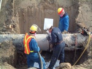 beveling pipes